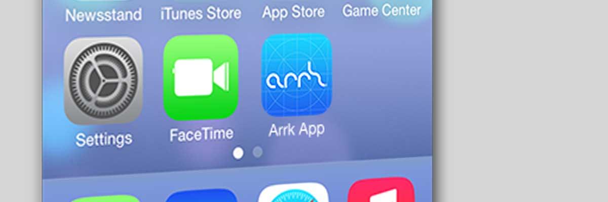 arrk iOS app icon
