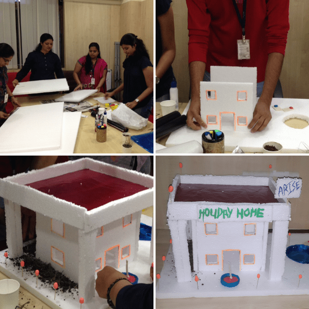 Innovation Games Holiday Home Build