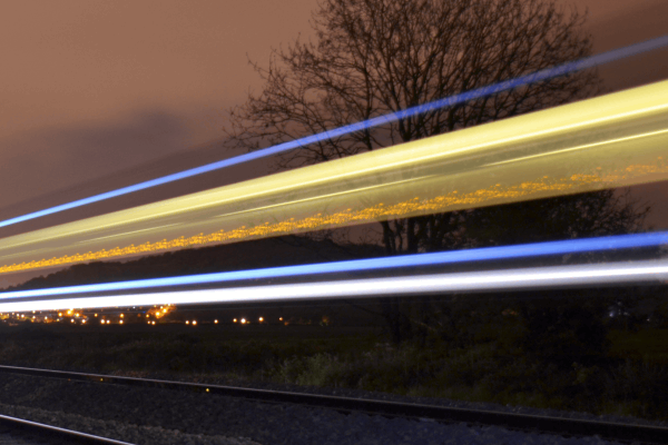 Train Blur 400