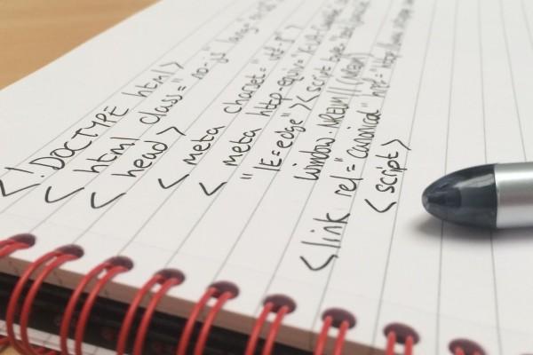 Handwritten Code 400